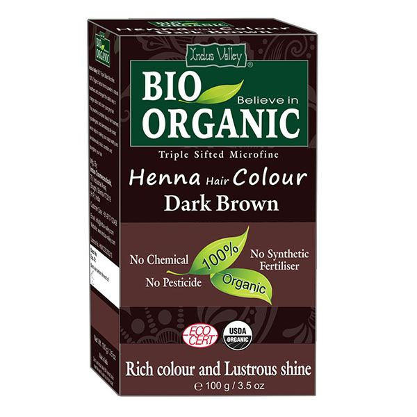 Bio Organic Henna Dark Brown