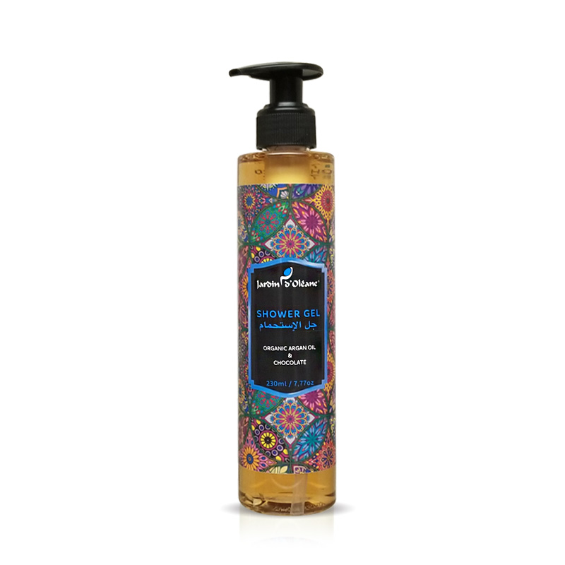 Shower Gel with argan oil & chocolate
