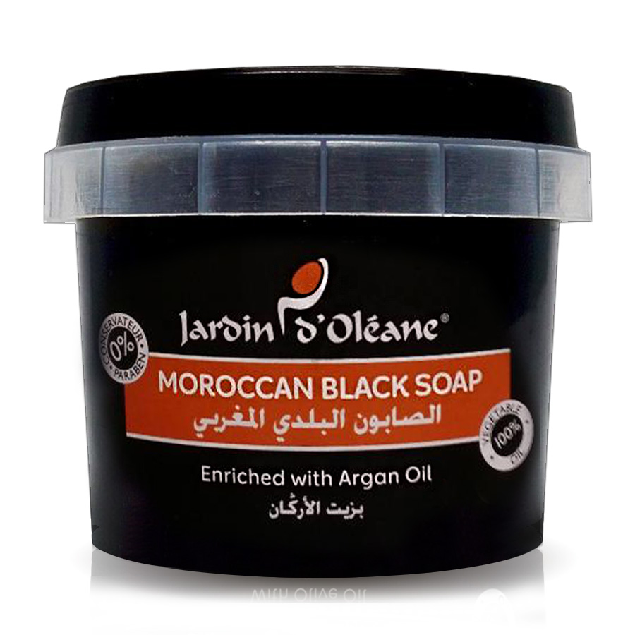 Moroccan Black Soap with Argan Oil 5 kg