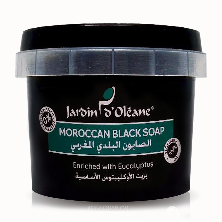Moroccan Black Soap with Eucalyptus Oil 5 kg
