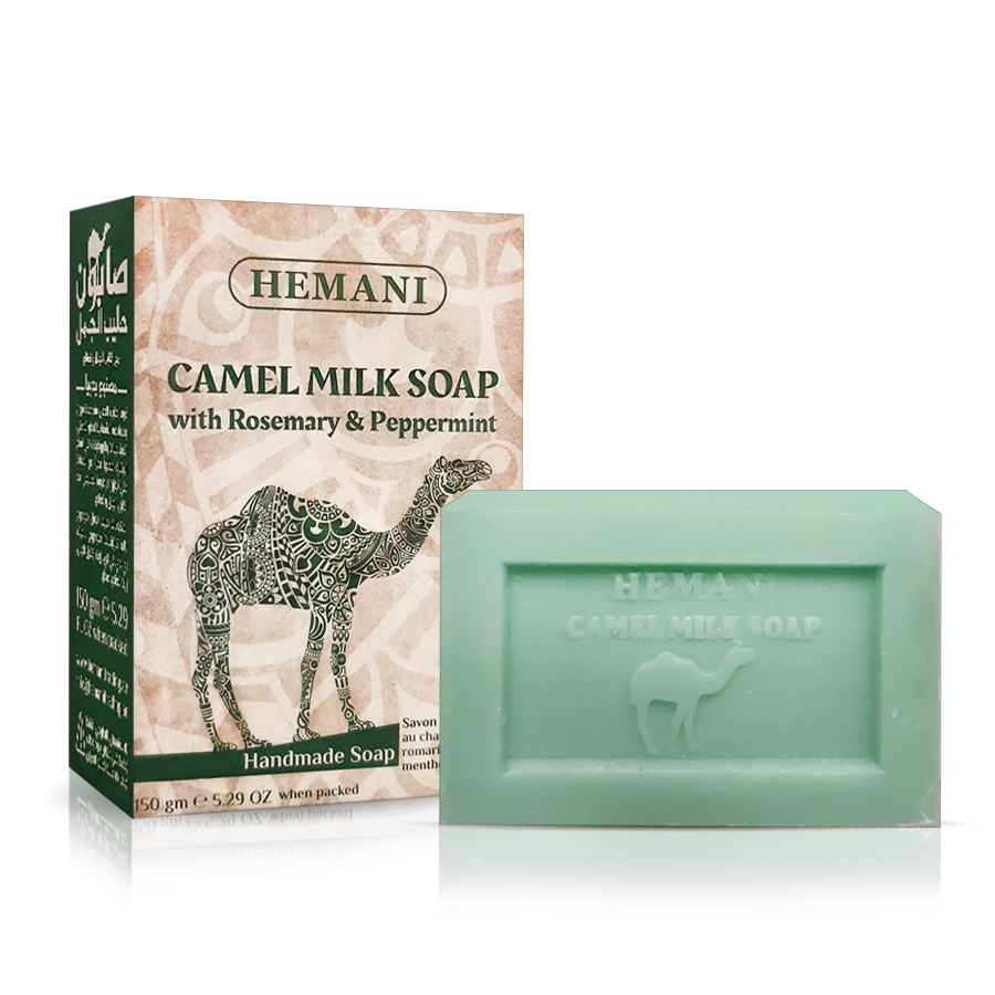 Camel Milk Soap With Rosemary & Peppermint