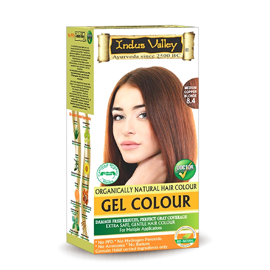 Gel Colour 8.4 Medium Copper Blonde