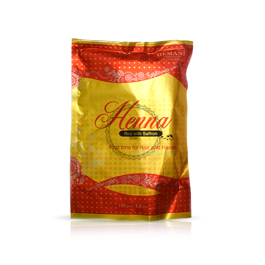 Saffron Red Hair Henna 150gr